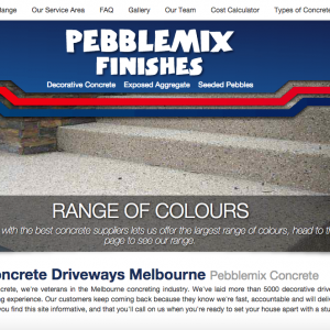 Pebblemix Finishes